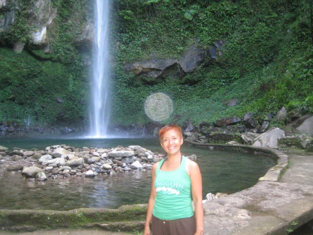 The first orb that has ever appeared in a photo taken of me. Katibawasan Falls, Camiguin Island, Philippines Nadine Marie V. Niguidula, MA 2013 © Aligning With Truth
