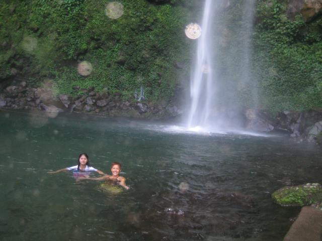 The orbs showed up only when I am in the pictures. Location: Katibawasan Falls, Camiguin Island, Philippines Nadine Marie V. Niguidula, MA 2013 © Aligning With Truth