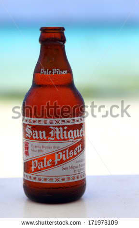 San Miguel --- the number one beer brand in the Philippines. My favorite brand back in the day...
